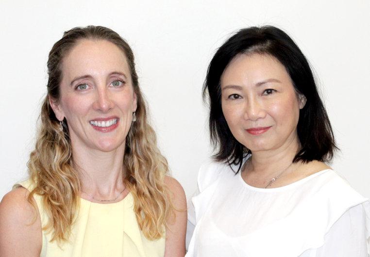 Dr Suzanne Cairns and Dr Caroline Lai