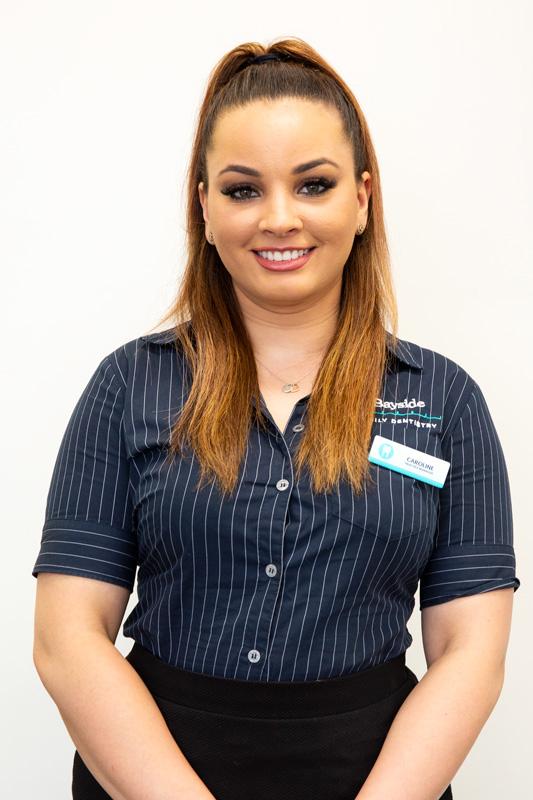 Bayside Family Dentistry's Practice Manager Caroline